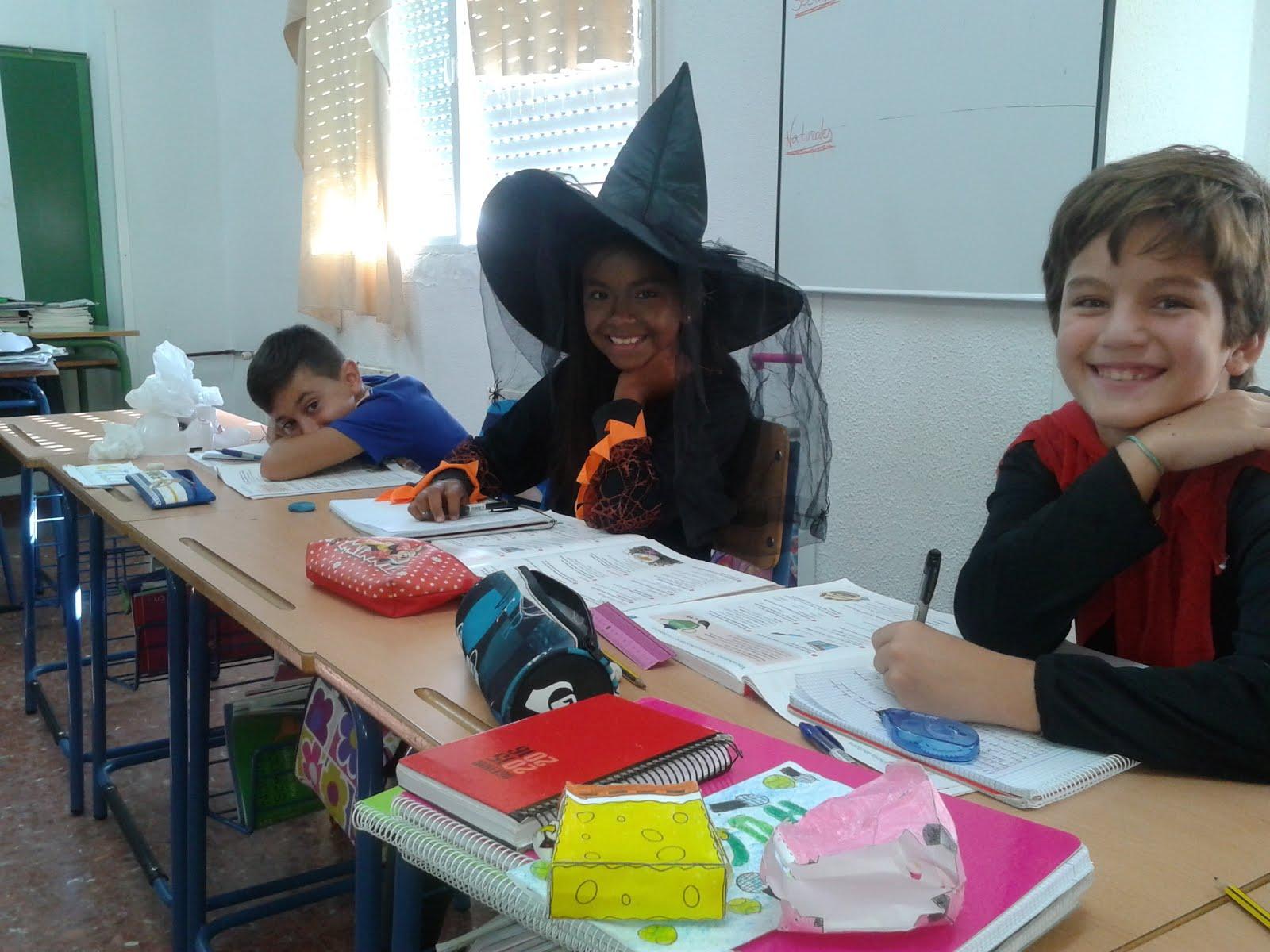 Celebración día de Halloween.