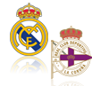 Live Stream Real Madrid - Deportivo La Coruna