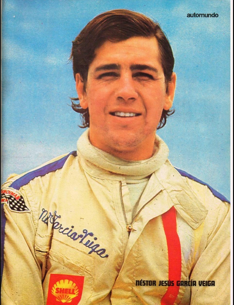 sport prototipo argentino NESTOR JESUS GARCIA VEIGACAMPEON 1970