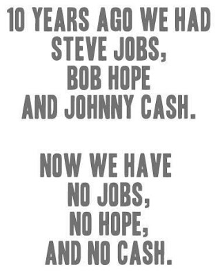 We have no jobs, no hope and no cash