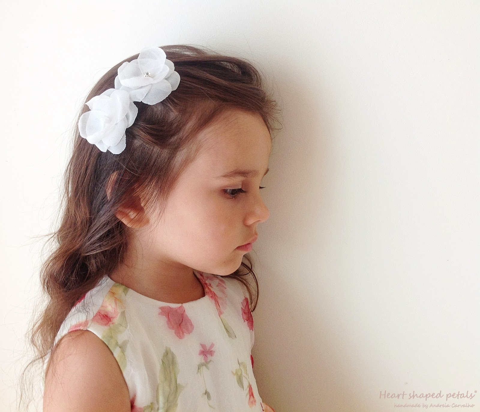 Child hair accessory baptism