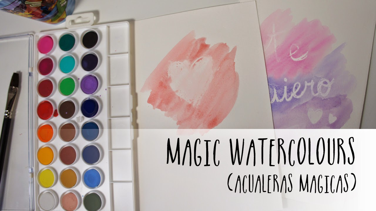 Magic watercolours