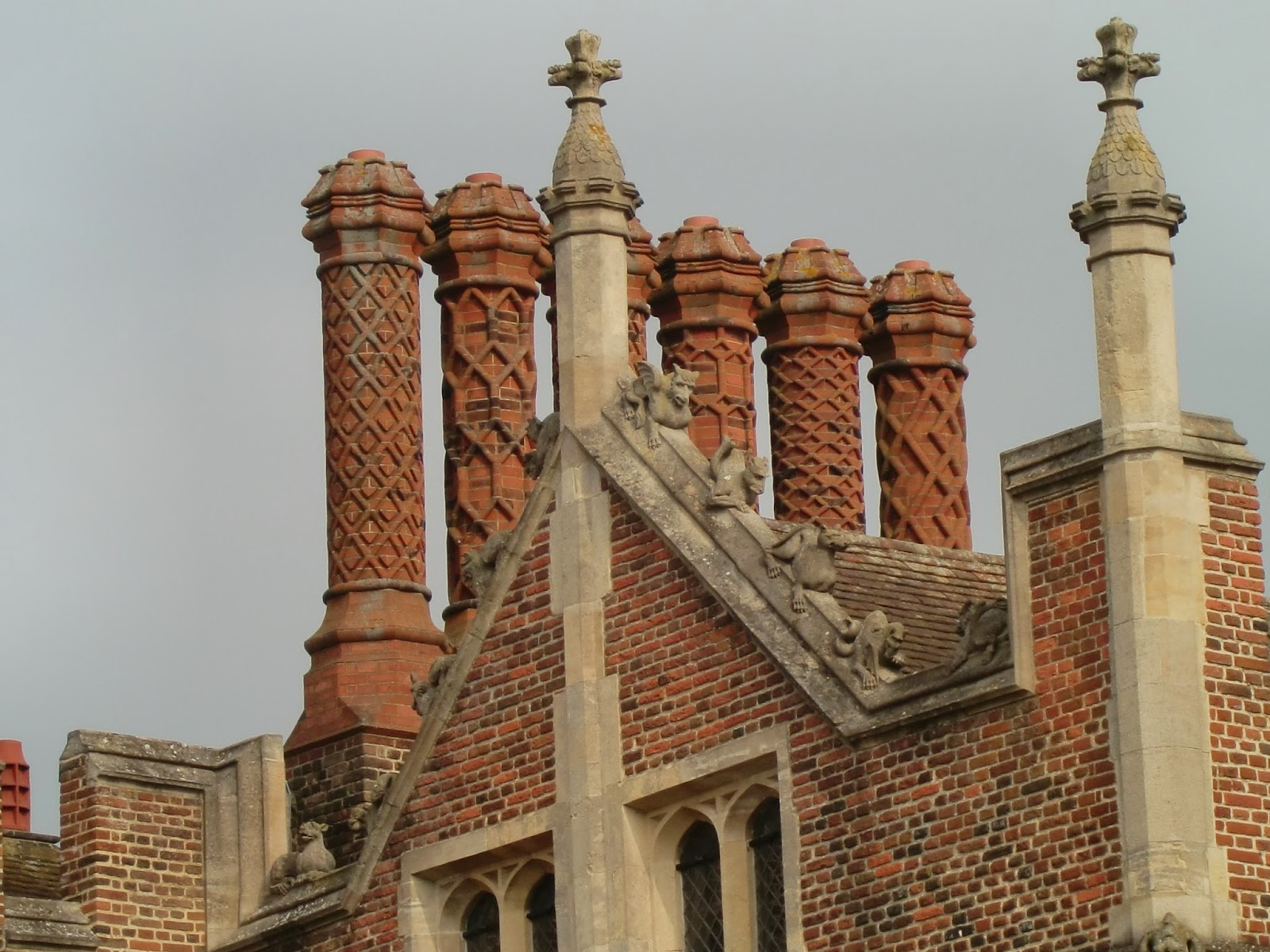 How Significant Were European Influences on the Development of Tudor Palaces?