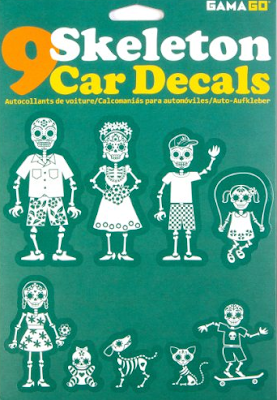 Skeleton Car Decals (By GAMAGO)