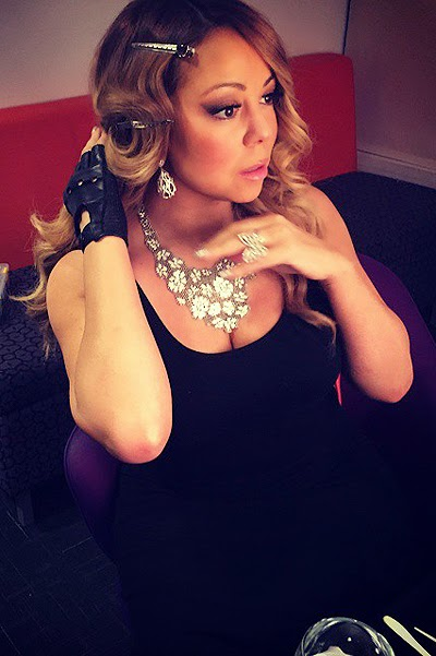 The singer Mariah Carey