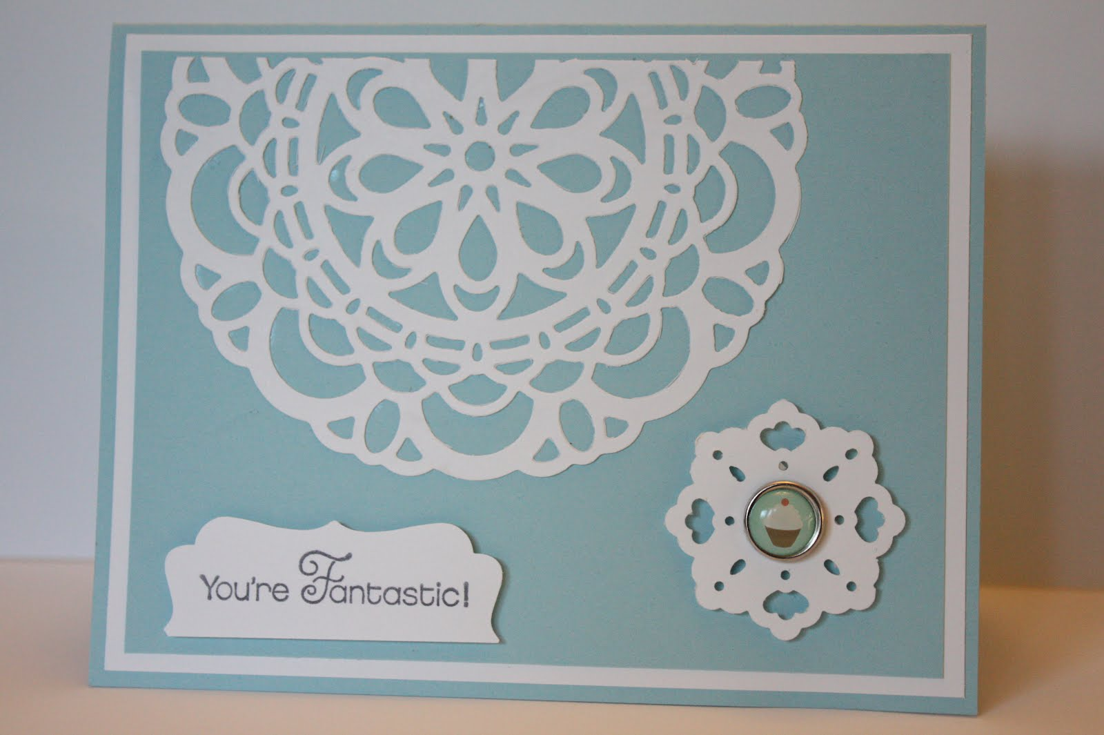 The Pursuit Of Stampiness Doily Triple Layer Punch And The