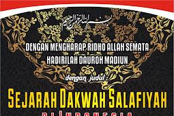Download Audio Kajian Sejarah Dakwah Salafiyah Di Indonesia