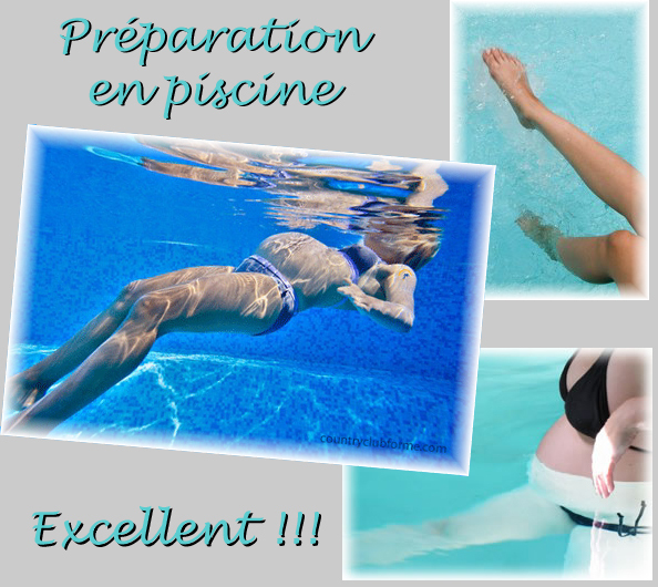 Il Y A Les Cours De Prépa En Piscine.