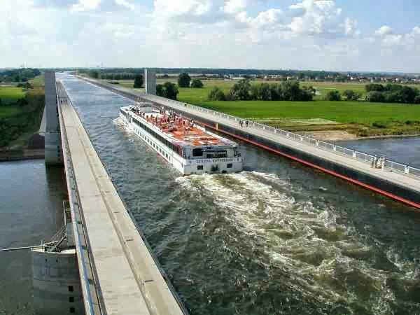 Magdeburg Water Bridge (Germany)
