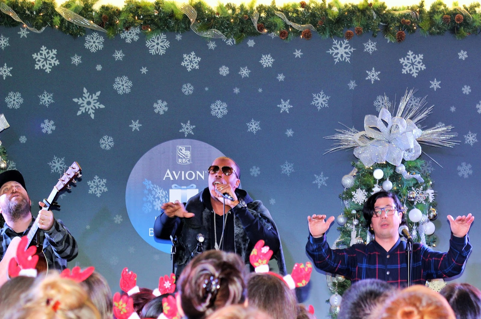 KARDINAL OFFISHALL PERFORMING AT RBC AVION BOUTIQUE LAUNCH IN YORKDALE MALL