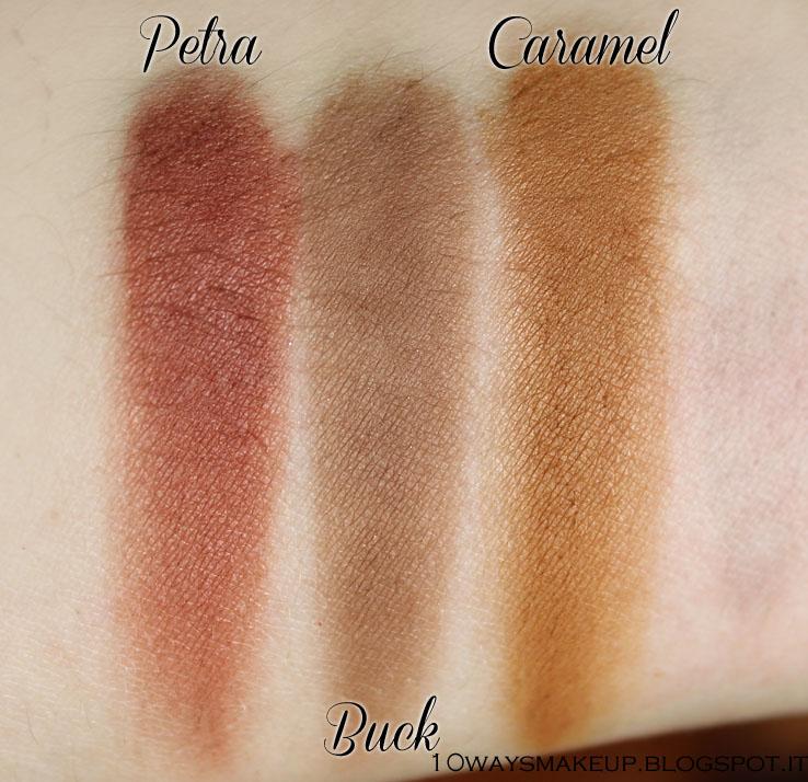 Nabla Cosmetics Genesis Petra swatch