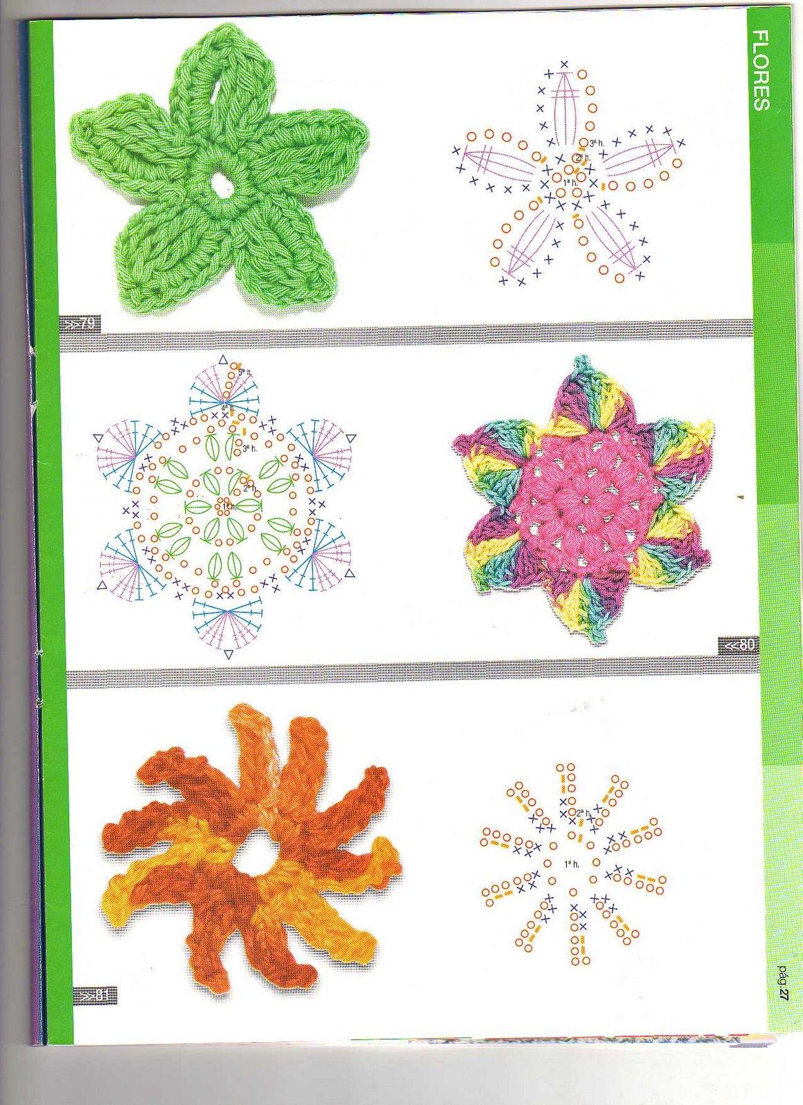 Motivos Crochet Cuadrados Mundo Crochet El Mejor Blog