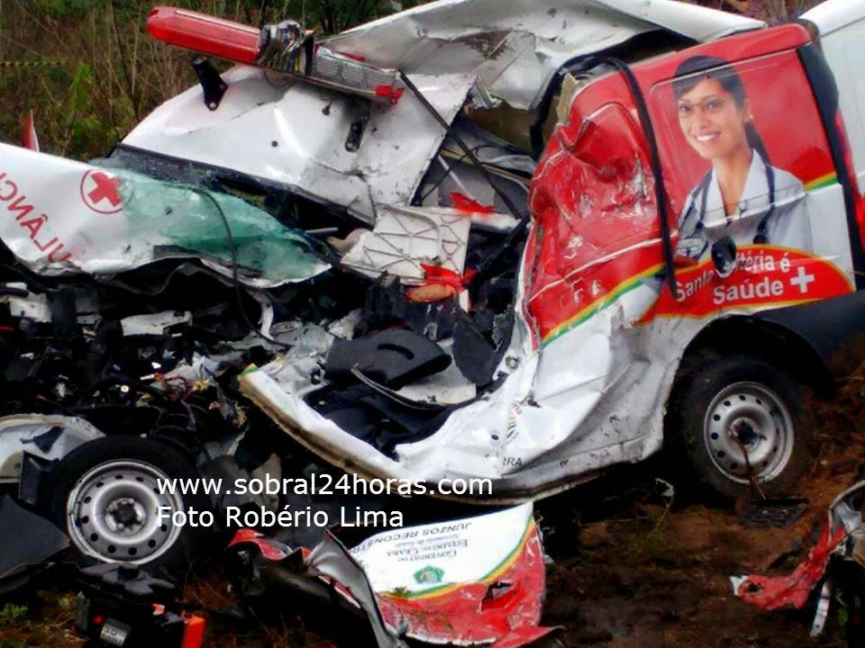 Cenas fortes: fotos do local da tragédia entre Forquilha e Sobral (acidente de trânsito).
