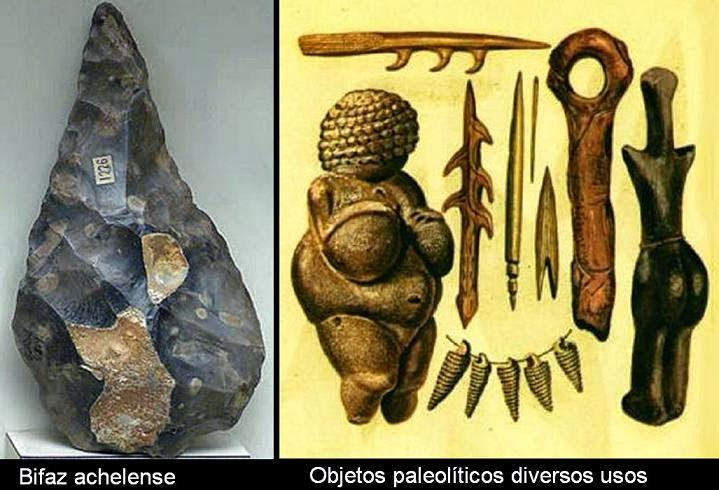 Algargos Arte e Historia EL ARTE MOBILIAR DEL PALEOLTICO LA
