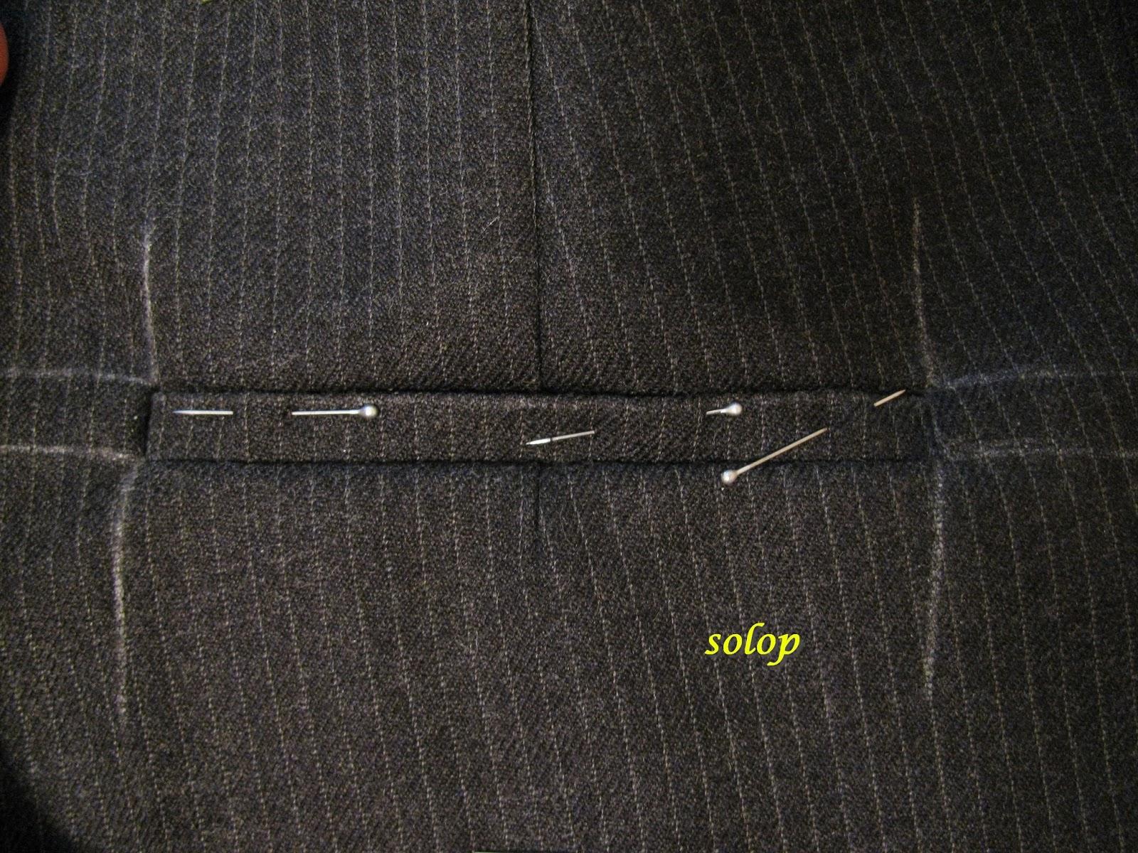 Как сделать карманы на штанах 407