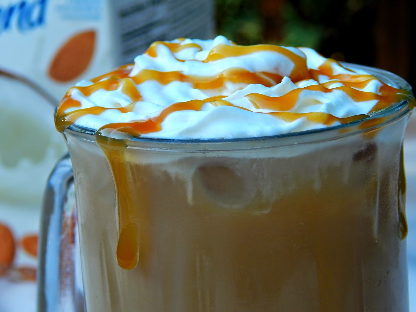 Recipe for Almond Butterscotch Iced Coffee #SilkAlmondBlends #cbias #shop