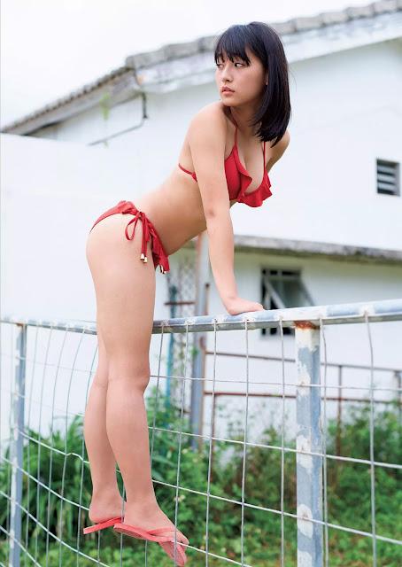 Asakawa Nana 浅川梨奈 Weekly Playboy 週刊プレイボーイ No 44 2015 Pics 6