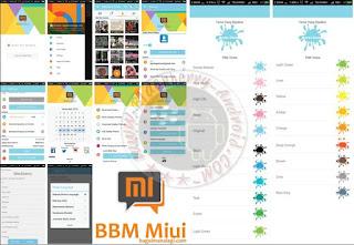BBM Mod Miui New Versi 2.11.0.18 With Change Theme