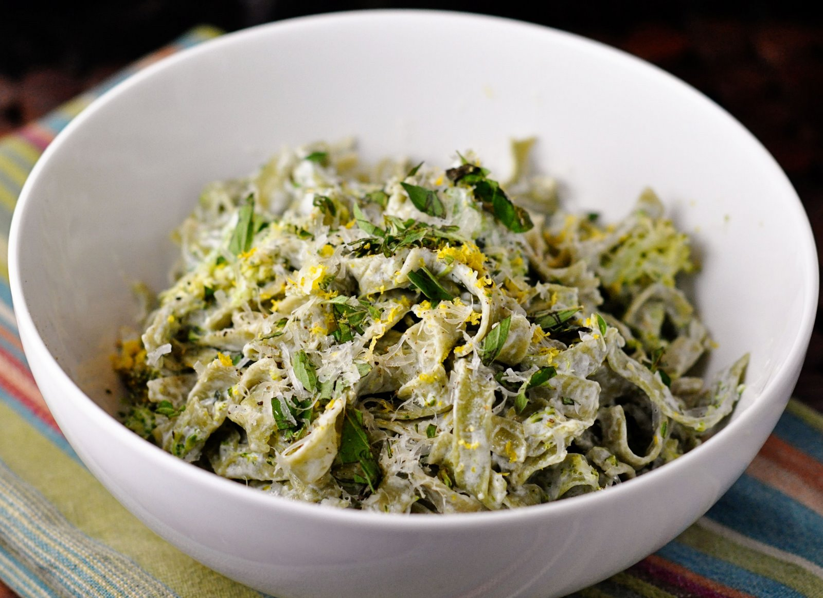 Marriage Factory: Pasta with Broccoli, Goat Cheese and Oregano