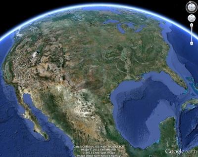 تحميل برنامج جوجل ايرث 2013 مجانا Download Google Earth Free