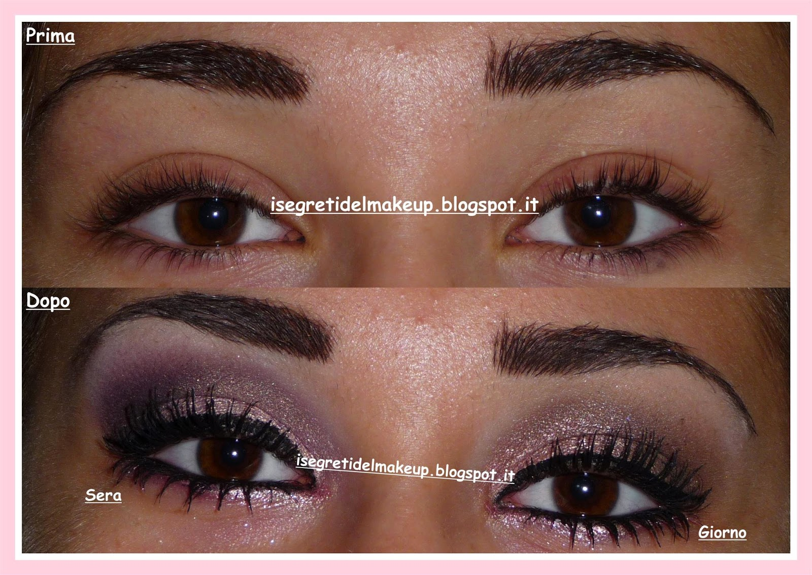 Exceptionnel I segreti del make up: [Tutorial, review] Il mio trucco preferito  DA74