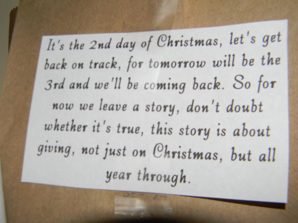 shelstring blog: December 2011