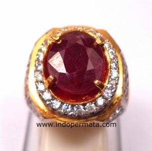 Batu Cincin Bawang Merahbatu permata ruby-merah delima-batu mulia ...