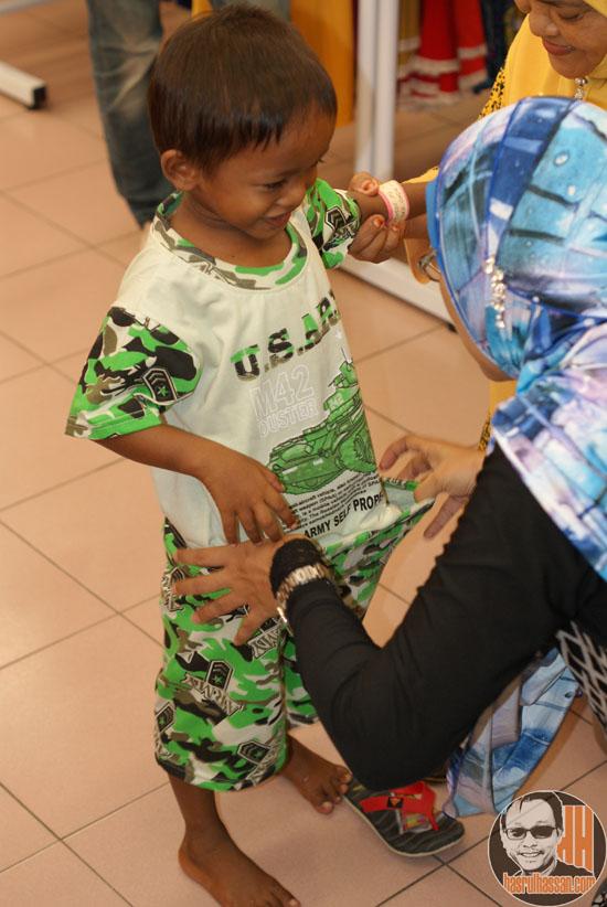 Shopping Raya 2014 Projek Iqra Sukarelawan Pasaraya Hari Hari Sungai Dua