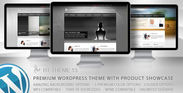Image for RT-Theme 13 Multi-Purpose Premium Theme by ThemeForest