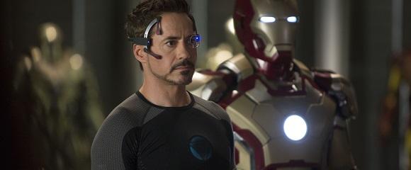 Robert Downey Jr. em HOMEM DE FERRO 3 (Iron Man 3)