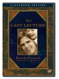 DVD cover of The Last Lecture by Randy Pausch