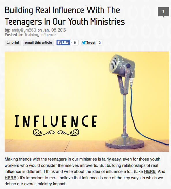 https://youthministry360.com/blog/building-real-influence-teenagers-our-youth-ministries#comment-60961