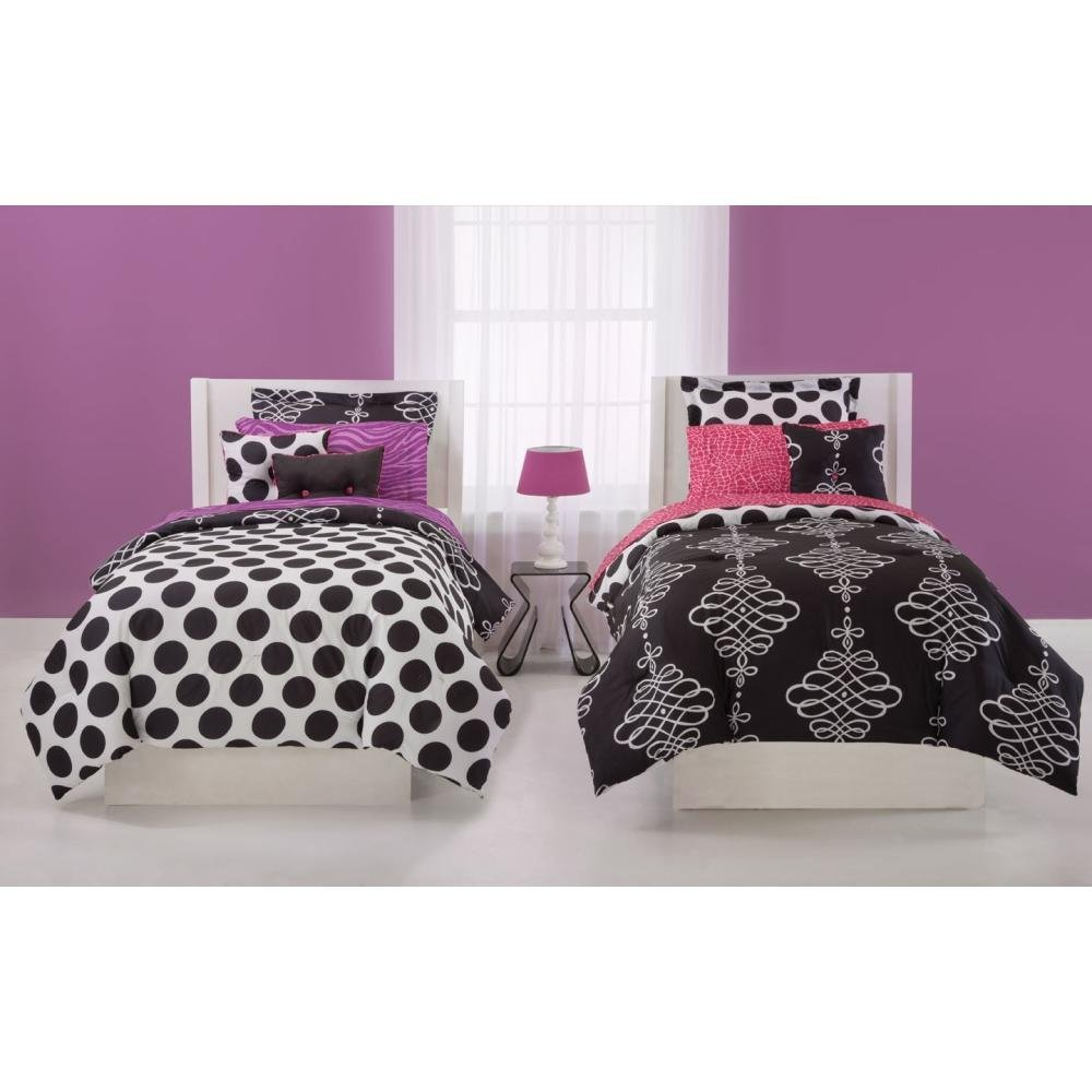 teen bedding item description full flamingo sheets bed itm new girls pink kids set twin comforter