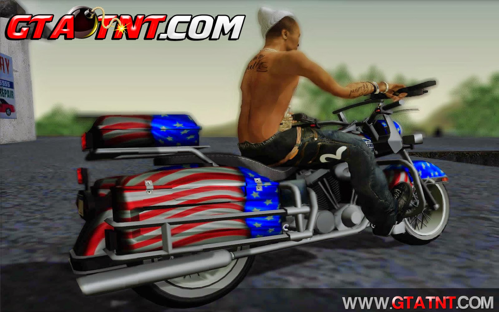 Western Sovereign Convertido do GTA V para GTA San Andreas