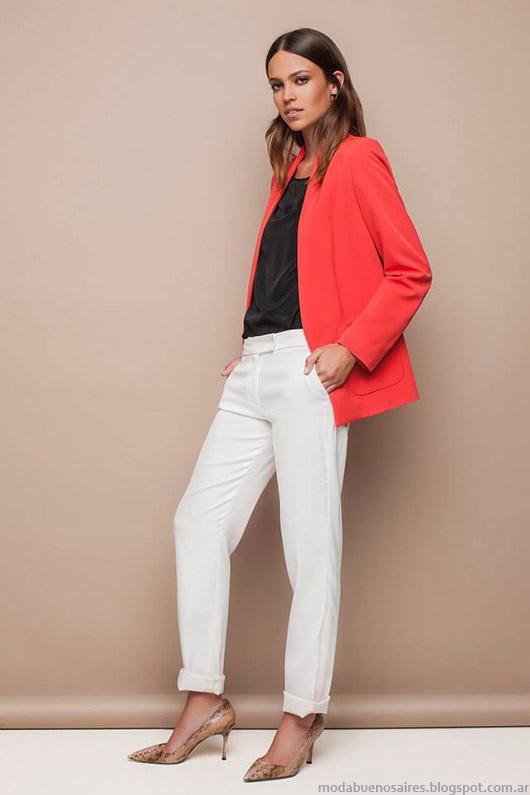 Looks Awada moda casual chic verano 2015.