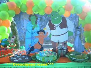 Shrek decoration for children parties