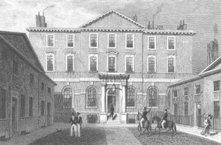 Melbourne House, Piccadilly,  by Thomas H. Shepherd c1830