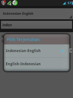 Download Kamus Indonesia - Inggris Untuk Android