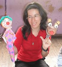 Títeres realizados por alumna del taller de Títeres para Educadores