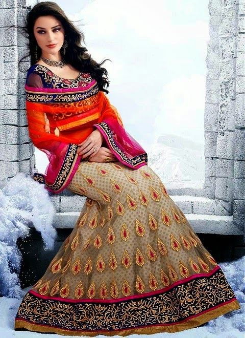 Fish Tail Lehenga Designs