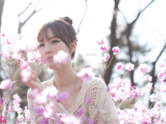 3 Choi Byeol Ha - Outdoor -Very cute asian girl - girlcute4u.blogspot.com