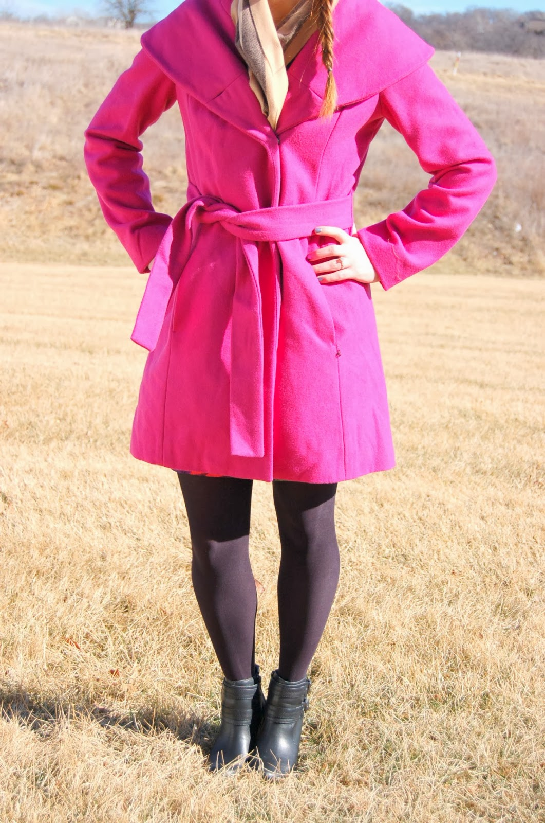 cute pink coats for winter