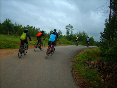 IISc Bikers ride through Avalahalli State Forest towards Rajankunte