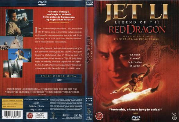 Jetli: Legend of the Red Dragon 1994