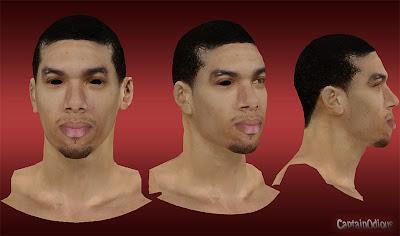 NBA 2K13 Danny Green Cyberface Mod