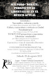 "25 de Agosto ""Jornada Libertaria en el México actual"" Cd. Nezahualcoyotl"