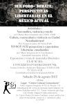 """25 de Agosto """"Jornada Libertaria en el México actual"""" Cd. Nezahualcoyotl"""