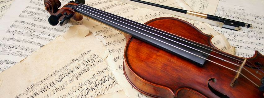 Jolie couverture facebook violon