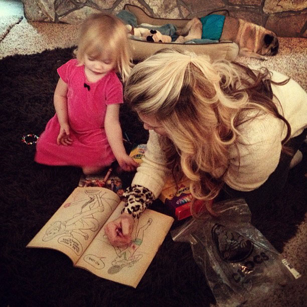 coloring with delilah
