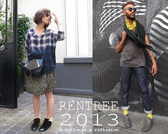 Silhouette homme et femme rentrée 2013